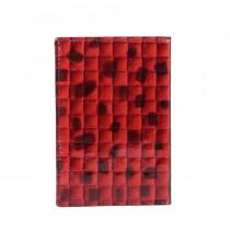 Обложка для паспорта de esse LC14002-T702 Красная