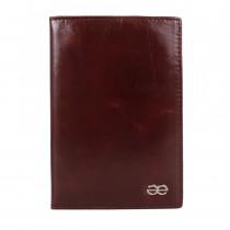 Обкладинка для паспорта de esse LC14002-YP17 Коричнева