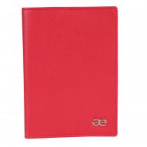 Обложка для паспорта de esse LC14011-X52 Красная