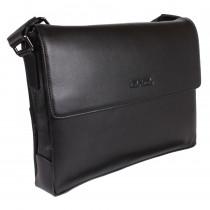 Портфель из натуральной кожи de esse LC45942X-1 Черный