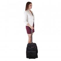 Чемодан-рюкзак de esse BV12908-012-18 Черный