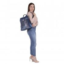 Сумка-рюкзак de esse C36450-1 Cиняя