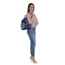 Сумка-рюкзак de esse C36945-1 Cиняя