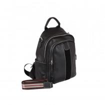 Сумка-рюкзак de esse L20053-1W Чорна