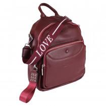 Сумка-рюкзак de esse L20926-0236 Вишневый