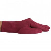 Перчатки женские D1490-2 Бордовые