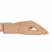 Перчатки женские L2376-7 Светло-коричневые