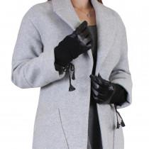 Перчатки женские L129-1T Черные