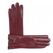 Перчатки женские L5863-2 Бордовые