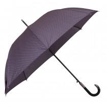 Зонт-трость de esse 1204 полуавтомат Серый