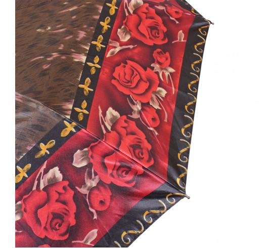 Зонт складной de esse 3128 автомат Коричневый