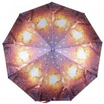 Зонт складной de esse 3142 автомат Огненный