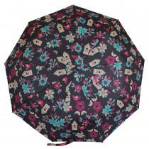 Зонт складной de esse 3219 полуавтомат Цветы