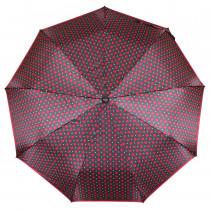Зонт складной de esse 3220 полуавтомат Красный