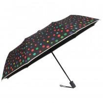 Зонт складной de esse 3221 полуавтомат Горошек