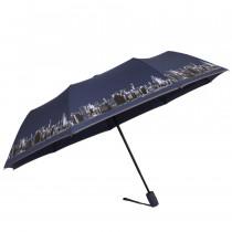 Зонт складной de esse 3222 полуавтомат Город