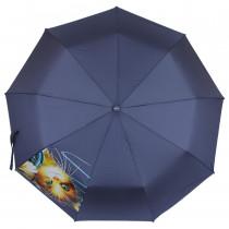 Зонт складной de esse 3222 полуавтомат Котенок