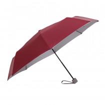 Зонт складной de esse 3305 механический Бордовый