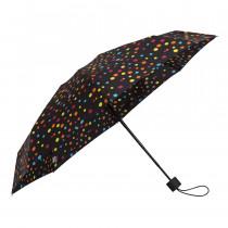 Зонт складной de esse 5301 механический Горошек