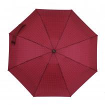 Зонт складной de esse 5302 механический Бордовый